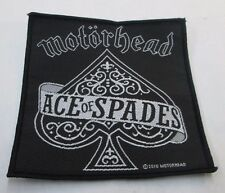 MOTORHEAD COLLECTABLE RARE PATCH ENGLISH WOVEN  METAL 2010 2449