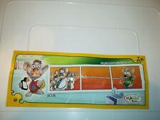 KINDER mouse Doctors DC125 - cartina bpz  N°1