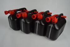 4x Essence Réservoir diesel 5 L Plastique incl. 4x FLEXIBLE ausgiessern