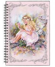 SALE! Christine Haworth *Secret Dell Fairy* Large Hardcover Spiral-Bound Journal