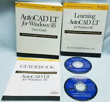 Autodesk AutoCAD LT for Windows 95 Design Software CD/Book 1998