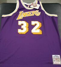 BRAND NEW MITCHELL&NESS NBA LOS ANGELES LAKERS JOHNSON 1984-85 AUTHENTIC JERSEY