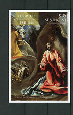 SAINT Vincent & Grenadine 2014 MNH EL GRECO 400th Memorial ANN IV Imperf SS II