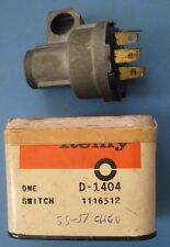 NOS ignition switch 1955-1956 Chevrolet passenger car models 55-57 Corvette
