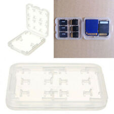 Box Holder 8 Slots Storage Case For Micro SD TF SDHC MSPD Memory Card