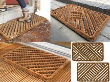 """Shoe Boot Scraper Brush Door Mat Coir Indoor Outdoor Entrance Doormat 18""""x30"""" L"""