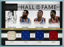 MIKAN LANIER EWING OLAJUWON 2010/11 TIMELESS TREASURES HALL OF FAME JERSEY /50