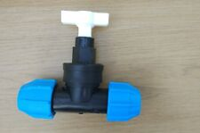 Polypipe 20MM PLASTIC STOPCOCK MDPE 42620