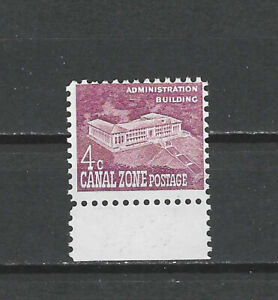 CANAL ZONE , US , 1960 , ADMINISTRATION BUILDING ,  4c STAMP , PERF , MNG
