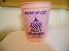 The Trump Card TAJ MAHAL Casino Resort Coin Chip Token Cup Bucket Slot Machine