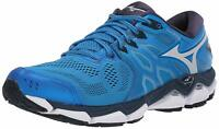 Mizuno Men's Wave Horizon 3 Running Shoe, Brilliant Blue-cloud, Size 7.5 wkCa