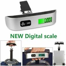 Digital Weighing Scale Portable Hanging Electronic Travel Suitcase Luggage 50kg