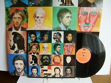 The Who - Face Dances  WHOD 5037 UK LP  1981 Polydor + Poster  You Better Bet