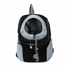 New Dog Backpack Front Pack Carrier for Small Dog up to 15lbs Ships From Ma, U.S
