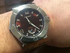 RENATO WILDEBEAST BROWN DIAL SWISS AUTOMATIC POWER RESERVE WATCH L.E. 25 MADE