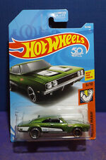 2018 Hot Wheels '69 DODGE CHARGER 500 in Green, HW MUSCLE MANIA 6/10 US IMPORT.