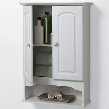 New Wall Cabinet Storage Cupboard Kitchen Toilet Bathroom Medicine Organizer USA