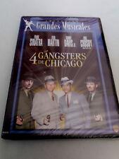 "DVD ""4 GANGSTER DE CHICAGO"" PRECINTADO SEALED FRANK SINATRA DEAN MARTIN SAMMY DA"