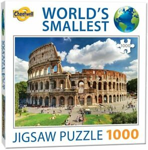 Cheatwell Games Le Plus Petit Puzzle 1 000 pièces au Monde - NEUF