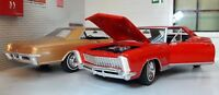 BUICK 1965 RIVIERA GRAN SPORT GS V8 1:24 ECHELLE Welly voiture miniature rouge
