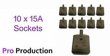 15 Amp (15 A) Stage Lighting Socket - Box of 10