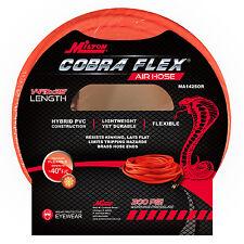 """Milton 25 Foot 1/4"""" ID Cobra Flex Hybrid Heavy-duty Air Compressor Hose"""