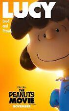 The Peanuts Movie (2015) Movie Poster (24x36) - Charlie Brown, Snoopy, Lucy v4