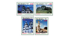 NIC8313 Churches 4 stamps