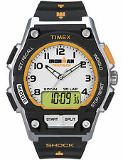 Timex Ironman T5K200, 30 Lap Combo Watch, Indiglo Night Light, 200M,Shock Resist