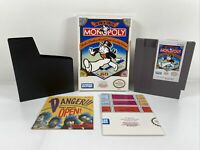 Monopoly (Nintendo Entertainment System, 1991) Complete In Box