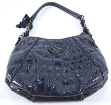 Simply Vera Women's Shoulder Bag Purse Blue Chain with Bow