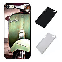 Retro Moped Mods Rockers plastic phone case Fits iPhone