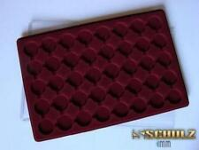 Plastic Coin Tray for 40 Coins up to 32mm 20p Sovereign 1 Euro 10p Small Po40