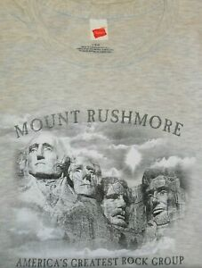 Mount Rushmore America's Greatest Rock Group T-Shirt (M-4XL)