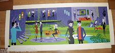 Predators and Prey Serigraph Josh Agle SHAG Art Print S/# 200 COA Disney Poster