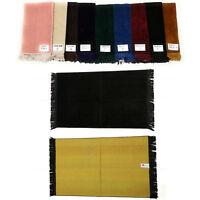 Liso Color Adulto Islámico Oración Mat.janamaz.musalla.soft Buenas Quality.565+