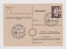 Stempel für Philatelie-Sammler aus der Bundesrepublik mit Sonderstempel