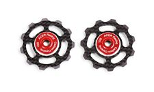 Carbon Fiber Jockey Wheels with Ceramic Bearings 6.5g by ACER Racing 10 speed