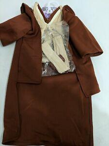 Rubie's Star Wars Classic Jedi Robe Pet Costume Size Large Cloak Shirt Belt NEW
