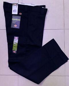 Dickies 873 Slim Fit Straight Leg Work Pants Black Mens 38W *NEW*