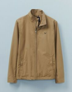 Crew Clothing Mens Harrington jacket - Tan - RRP £110