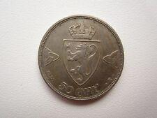 Norway / Norge 50 ÖRe 1920