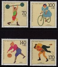 Germany 1991 Sports SG 2345-2348 MNH