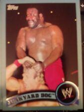 2011 Topps WWE Wrestling BLUE #109 Junkyard Dog #d 0537/2011