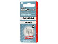 MAGLITE mini solitaire aa rechange torche ampoule-pack de 2 xenon ampoules de rechange