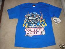 Transformers T Shirt Size Extra Large XL Boys