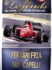 Poster Story LEGENDS - Ferrari F92A & Ivan Capelli  [AS3] -104
