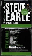 """STEVE EARLE """"Live From Austin TX - November 12,2000"""" (CD Digipack) 2008 NEUF"""