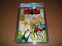 Batman #153 CGC 7.5 w/ OW/W pages from 1963! Bat-Girl app DC Comics not CBCS