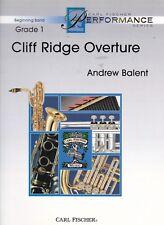 Andrew Balent : Cliff Ridge Overture, Partitur und Stimmen, für Flöte, Oboe